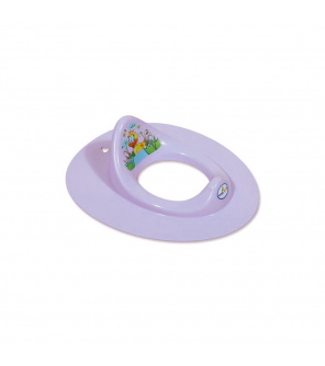 Dětské sedátko na WC Balbinka fialové