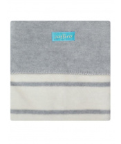 Dětská bavlněná deka Womar 75x100 šedo-béžová