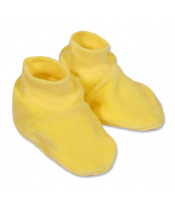 Dětské bačkůrky New Baby žluté
