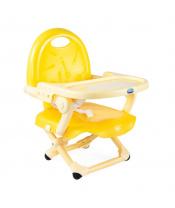 CHICCO Podsedák přenosný Pocket Snack na židli  - Saffron