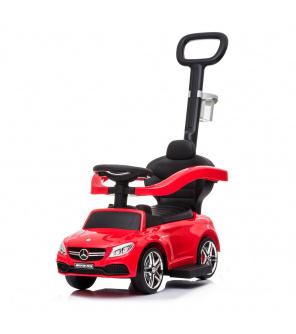 Odrážedlo s vodící tyčí Mercedes Benz AMG C63 Coupe Baby Mix červené