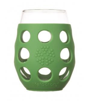 Lifefactory sklenice 500ml 2ks grass green