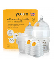 Yoomi 5oz Bottle/2 x Warmer/Teat/Pod 2019 - Y15B2W1P