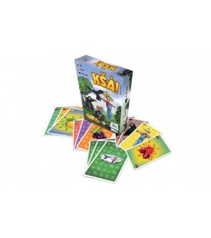 Kšá! karetní společenská hra v krabičce 10x13x3cm