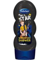BÜBCHEN Kids šampon a sprchový gel 2 v 1 - Be a Star, 230 ml