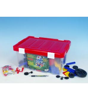 Stavebnice Seva 5 Jumbo plast 1064ks v plastové krabici 40x19x27cm