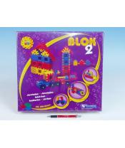 Stavebnice BLOK 2 plast 146ks v krabici 33x33x8cm