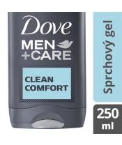 DOVE Men+Care Sprchový gel pro muže Clean Comfort 250 ml