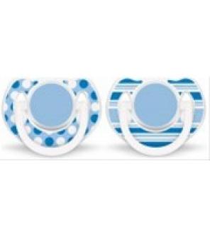 Šidítko silikonové 6-18 m. bez BPA Obrázek Exclusive, 2 ks Avent