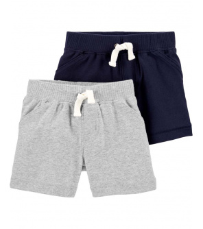 CARTER'S Kalhoty krátké chlapec LBB 2ks 3m
