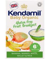 KENDAMIL BIO/organická dětská bezlepková ovocná kaše mango, banán (150 g)