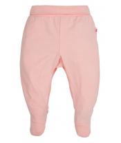 Kalhoty BASIC s ťapkami A růžová 068