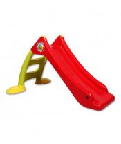 Dětská skluzavka - červeno-zelená