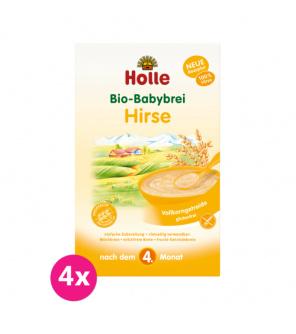 4x HOLLE Kaše nemléčna Bio jahelná 250 g
