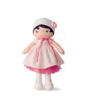 Kaloo Panenka 40cm Perle  K Tendresse v bílých šatech z jemného textilu v dárkovém balení