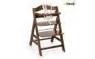 Hauck Alpha+ 2020 židlička dřevěná : walnut