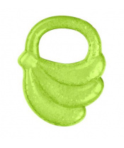 BABYONO Kousátko chladící banán - zelená