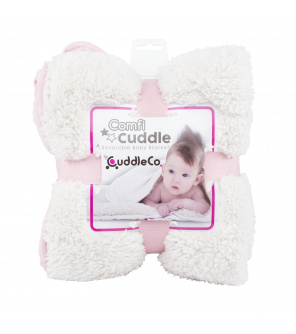 CUDDLE CO Super měkká oboustranná dětská deka