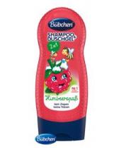 BÜBCHEN Kids šampon a sprchový gel 2v1 Veselá malina 230 ml