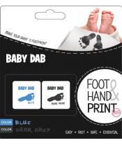 BABY DAB Barva na dětské otisky 2ks modrá, šedá