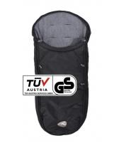 TFK footmuff universal black for Dot buggy T-068-310