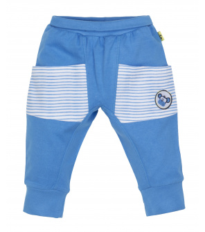 Kalhoty do pasu s kapsami chlapec Opice 98 cm