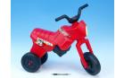 Odrážedlo Enduro Yupee červené velké plast výška sedadla 31cm nosnost do 25kg od 12 měsíců