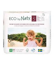 Kalhotky plenkové jednorázové 5 Babycare Pants 12-18kg 20ks Naty Nature
