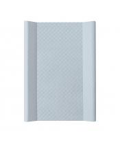 CEBA Podložka přebalovací měkká 2hranná 70 x 50 cm CARO Steel Ceba