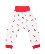Kojenecké bavlněné tepláčky New Baby Cherry