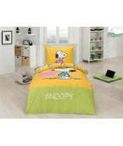 Matějovský povlečení bavlna DELUXE Snoopy Heart  70x90, 140x200 cm