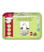 Plenky jednorázové 3 Midi 5-8kg 25ks Baby Muumi