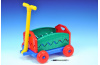 Vozík/Vlečka plast 40x32x20cm rozkládací s rukojetí