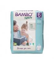 BAMBO Nature Jednorázové pleny 6, 20 ks, 16+ kg