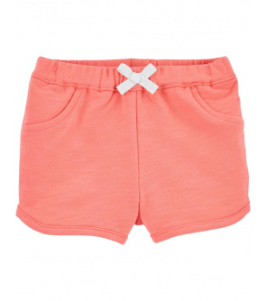 CARTER'S Kalhoty krátké Pink dívka 9 m, vel. 74