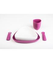 eKoala eKeat BIO plast jídelní sada holka