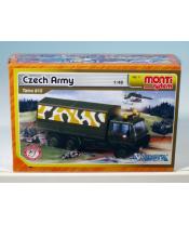 Stavebnice Monti System MS 11 Czech Army Tatra 815 1:48 v krabici 22x15x6cm