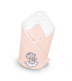 Zavinovačka s výztuží Belisima Cute Mouse růžová