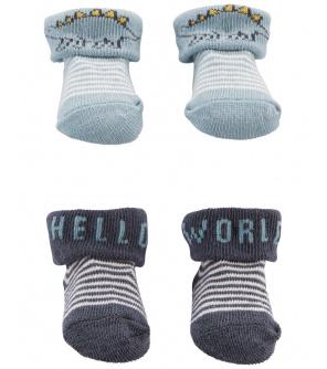 CARTER'S Ponožky Blue Dino chlapec LBB 2ks NB, vel. 56