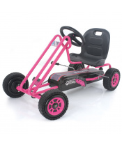 Hauck TOYS Motokára Lightning Race pink