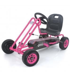 Hauck šlapací Motokára Lightning Race pink