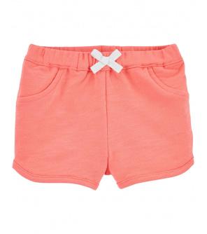 CARTER'S Kalhoty krátké Pink dívka 12 m, vel. 80