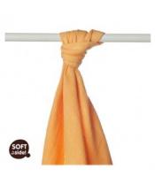 KIKKO Osuška/plena bambusová Colours 90x100 (1 ks) – orange