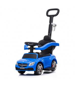 Odrážedlo s vodící tyčí Mercedes Benz AMG C63 Coupe Baby Mix modré