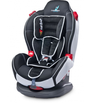 Autosedačka CARETERO SPORT TURBO black 2015