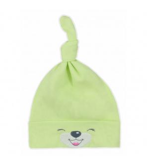 Bavlněná kojenecká čepička Bobas Fashion Lucky zelená