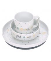 Lässig BABIES Dish Set Porcelain Garden Explorer