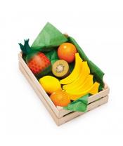 Erzi obchůdek - Tropické ovoce - set potravin