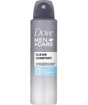 DOVE Alu-free Men + Care Deo spray Clean Comfort 150 ml