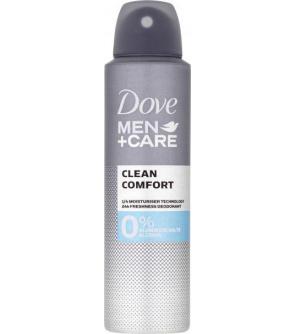 Deo sprej Men + Care Clean Comfort Alu-free 150ml Dove